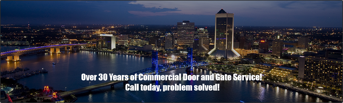 Over 30 Years of Commercial Door and Gate Service! Call today, problem solved!