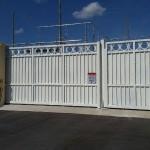 Florida Power & Light: Hysecurity model 50VF hydraulic industrial slide gate operator