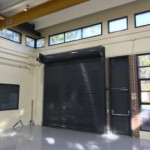 Raynor Overhead Door and Operator with Safety Edge and photo eyes