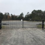 Wayne Frier LiftMaster Swing Gate Installation